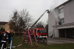 Evakuacija V. osnovne škole Varaždin